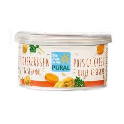 """Pâté végétal """"Pois Chiches et Huile de Sésame"""" 125g-Pural"""