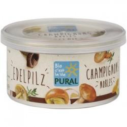 """Pâté végétal """"Champignons Nobles"""" 125g-Pural"""