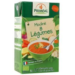 Mouliné 8 légumes - 1L - Priméal