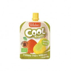 Cool Fruits Pomme Poire Williams 90g-Vitabio
