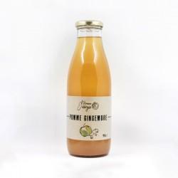Jus de Pomme Gingembre - 75cl - La Bonne Énergie