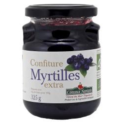 Confiture Myrtilles - 325g - Côteaux Nantais