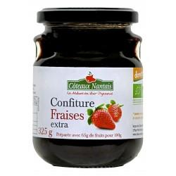 Confiture Fraises - 325g - Côteaux Nantais