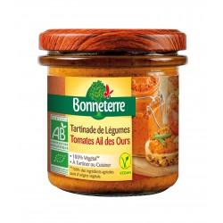 Tartinade de Légumes Tomate Ails Des Ours - 135g - Bonneterre