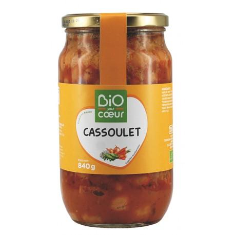 Cassoulet aux Saucisses de Toulouse 840g-Bio Par Coeur