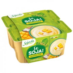 So Soja Mangue & Coco - 4x100g - Sojade