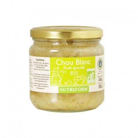 Chou Blanc Lacto-fermenté 380g-Nutriform
