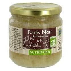 Radis Noir Lacto-fermenté 380g-Nutriform