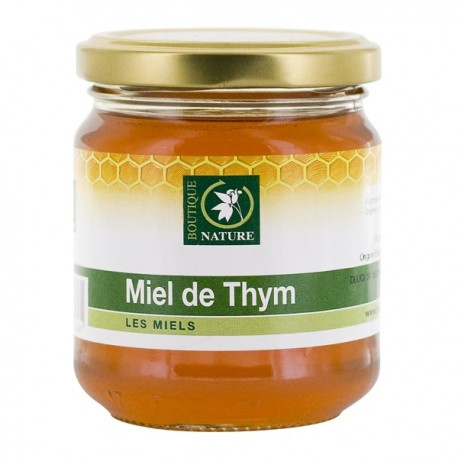 Miel de Thym 250g-Boutique Nature