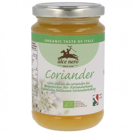 Miel de Coriandre 400g-Alce Nero