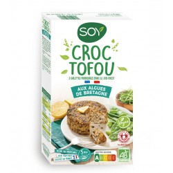 Croc Tofou aux Algues de Bretagne - 2x100g - SOY
