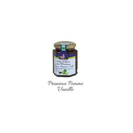 Mes Délices aux Pruneaux Pruneau/Pomme/Vanille 210g-Lou Prunel