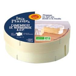 Camembert De Normandie AOP - 250g - Lait Plaisirs