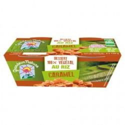 Dessert 100% Végétal Riz Caramel 2x100g - Grandeur Nature