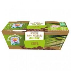 Dessert 100% Végétal Riz Cafe - 2x100g - Grandeur Nature