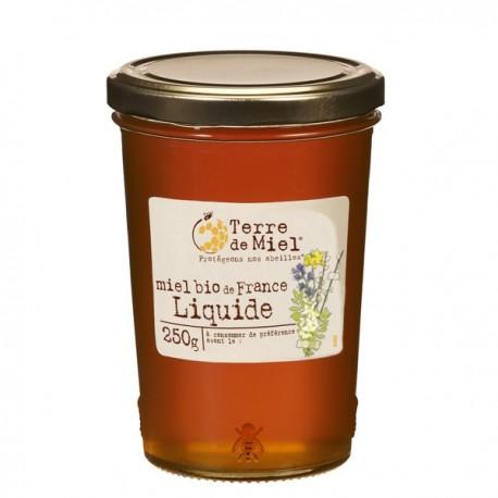 Miel Bio de France Liquide 250g-Terre de Miel