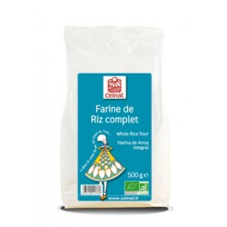 Farine de Riz complet 500g-Celnat