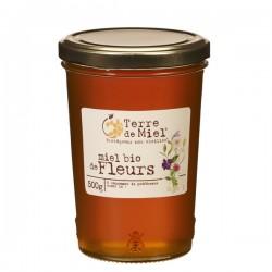Miel Bio de France Liquide 500g-Terre de Miel