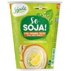 So Soja Citron Gingembre Thé Vert - 400g - Sojade