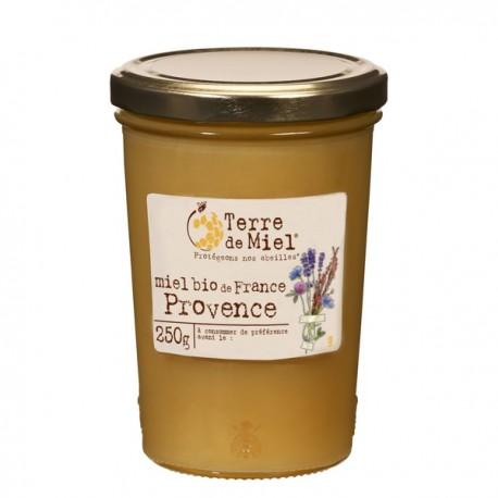 Miel Bio de France Provence 250g-Terre de Miel