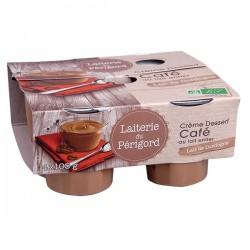 Crème Dessert Café - 4x105g - Laiterie du Périgord