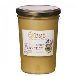 Miel Bio de France Provence 500g-Terre de Miel