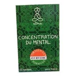 Concentration du Mental Bio - 20 Sachets - Atma