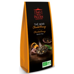 Thé Noir Chocolat Orange - 100g - Thés de la Pagode
