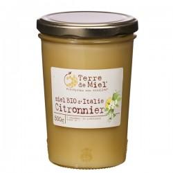 Miel Bio d'Italie Citronnier 500g-Terre de Miel