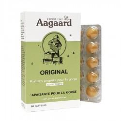 Original Pastilles Pour la Gorge - 30 Pastilles - Aagaard Propolis