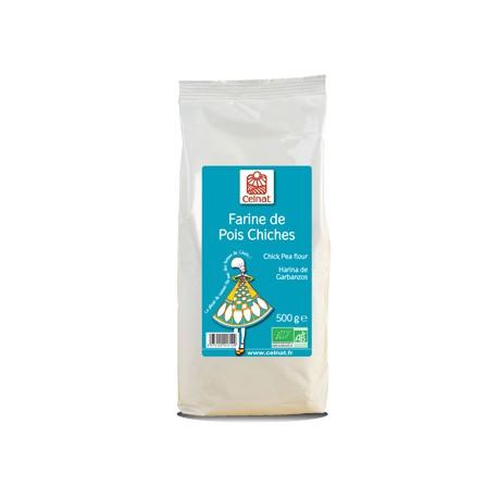 Farine de Pois Chiches 500g-Celnat