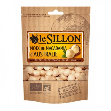 Noix de Macadamia d'Australie 125g-Le Sillon