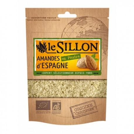 Amandes d'Espagne en Poudre 125g-Le Sillon