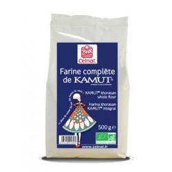 Farine complète KAMUT® (blé khorasan) 500g-Celnat