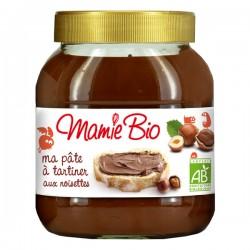 Ma Pâte à tartiner aux Noisettes 350g-Mamie Bio