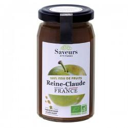 Préparation 100% Fruits Reine Claude de France - 240g - Saveurs Attitudes