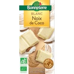 Chocolat Blanc Noix de Coco 100g -Bonneterre