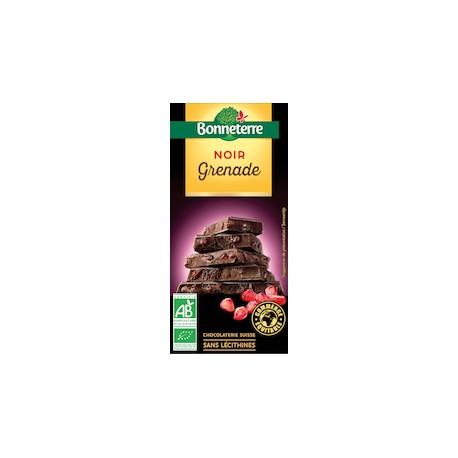 Chocolat Noir Grenade 100g -Bonneterre