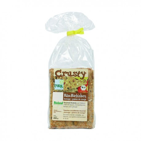 Crusty Fromage et Graines de Courge 200g-Pural