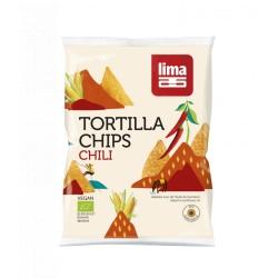 Tortilla Chips Chili - 90g - Lima