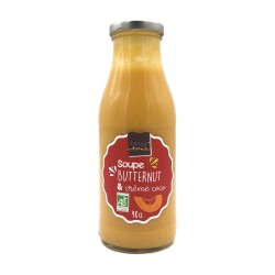 Soupe Butternuts & Crème de Coco - 640g - Natur'Avenir