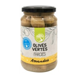 Olives Vertes Farcies Aux Amandes - 350g - Philia