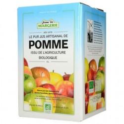 Bib Pur Jus Artisanal de Pomme - 5L - Ferme Bio Margerie