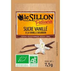 Sucre Vanillé - 8 Sachets - Le Sillon
