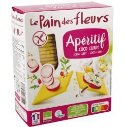 Tartines Craquantes Apéritif Coco Curry - 150g - Le Pain des Fleurs
