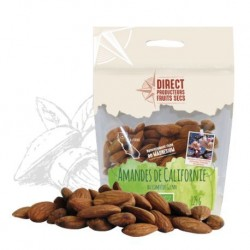 Amandes Californie - 125g - Direct Producteurs Fruits Secs
