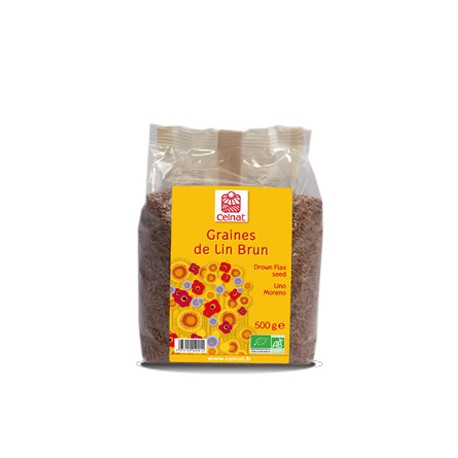 Graines de Lin Brun 250g-Celnat