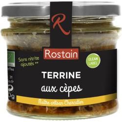 Terrine aux Cèpes - 180g - Rostain