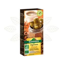 Capsules Espresso Doux 50g-Bonneterre