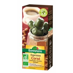 Capsules Espresso Corsé 50g-Bonneterre